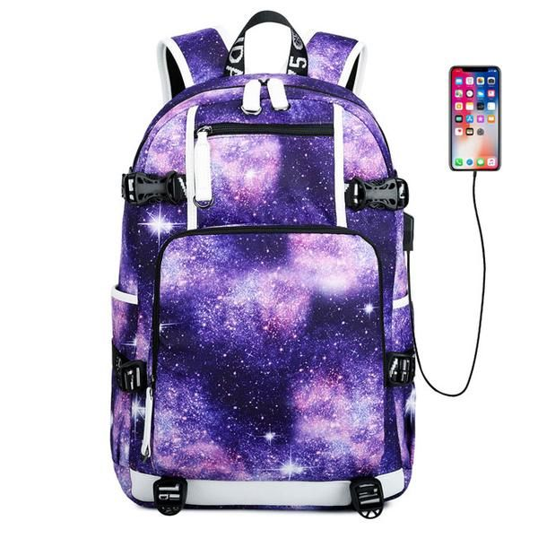 Cool Galaxy High School Bag Starry Sky Space Waterproof Large Oxford Nebula Travel Backpack Cool Galaxy High School Bag Starry Sky Space Waterproof Large Oxford Nebula Tr...