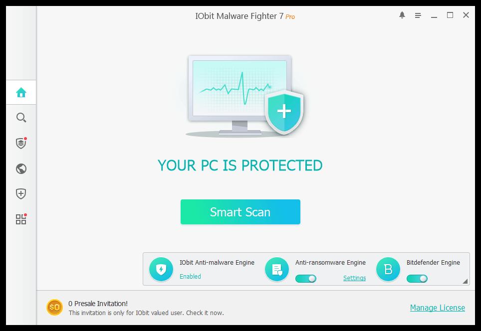 Iobit Malware Fighter 7 Pro Key Free Download Malware Cyber Threat Intelligence Cyber Threat