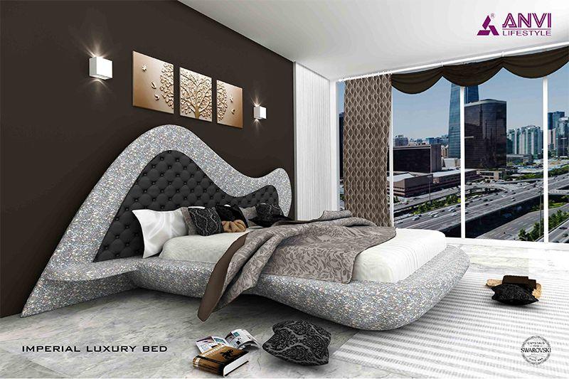 Luxury Swarovski Crystal Bed In 2020 Crystal Bedroom Luxurious Bedrooms Bedroom Set