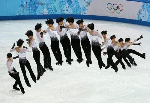 五輪フィギュア:羽生、「金」決めた演技後半のジャンプ