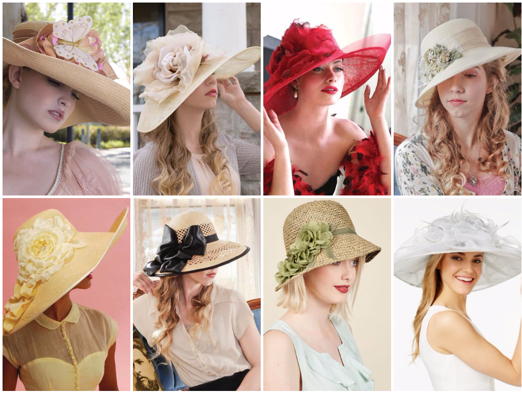 eeb6248b Ladies Tea Party Hats- Make or Buy Victorian Hats | Accessorize ...