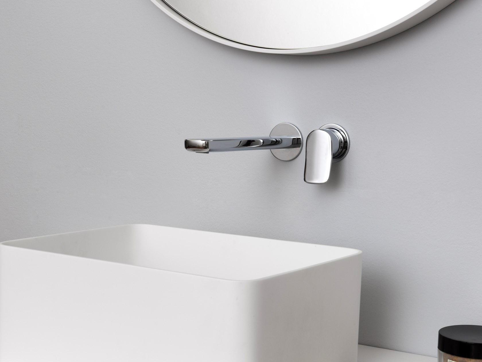 Miscelatore A Muro Per Lavabo brim | miscelatore per lavabo a muro collezione brim by