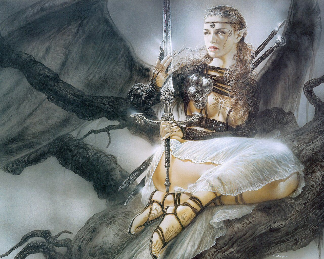 Luis Royo - #DigitalArt #Fantasy #Illustration | Fantasy
