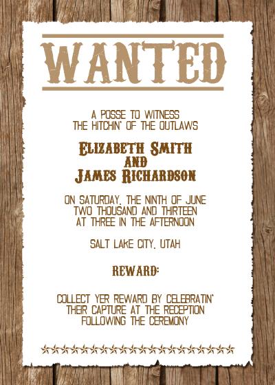 Western Wedding Invitations on Pinterest | Wedding ...