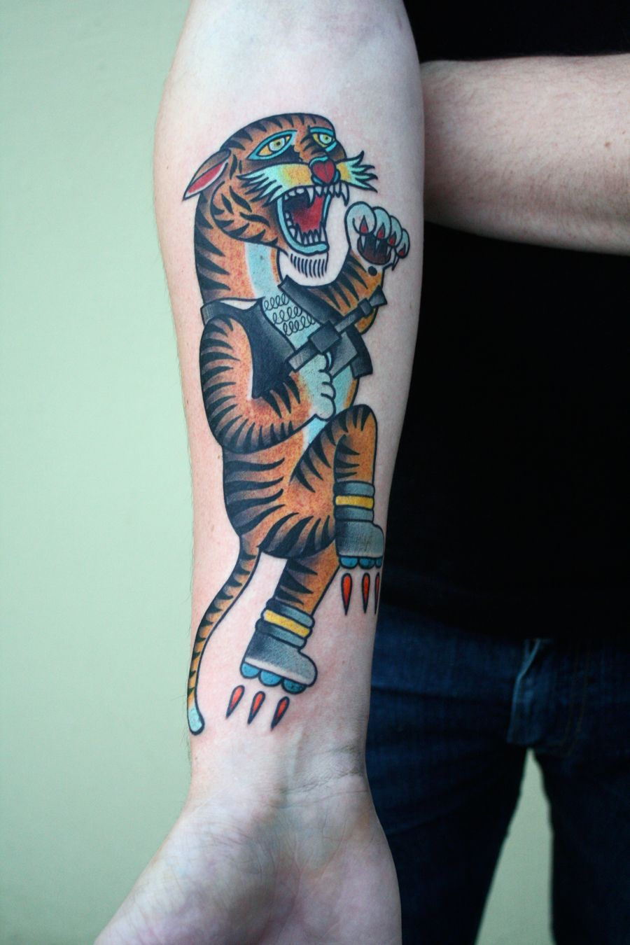 Future Tiger Artist: Justin Dion Shop: Anatomy Tattoo   Awesome ...
