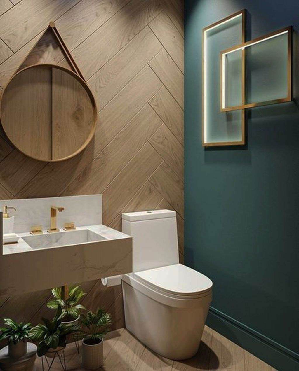 10 Pretty Powder Rooms Bathroom Wall Colors Bathroom Tub Shower