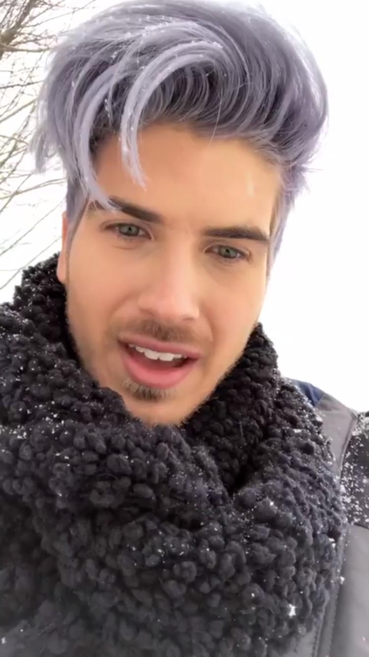 Joey Graceffa It S Snowing Men Hair Color Mens Haircuts Short Haircuts For Men