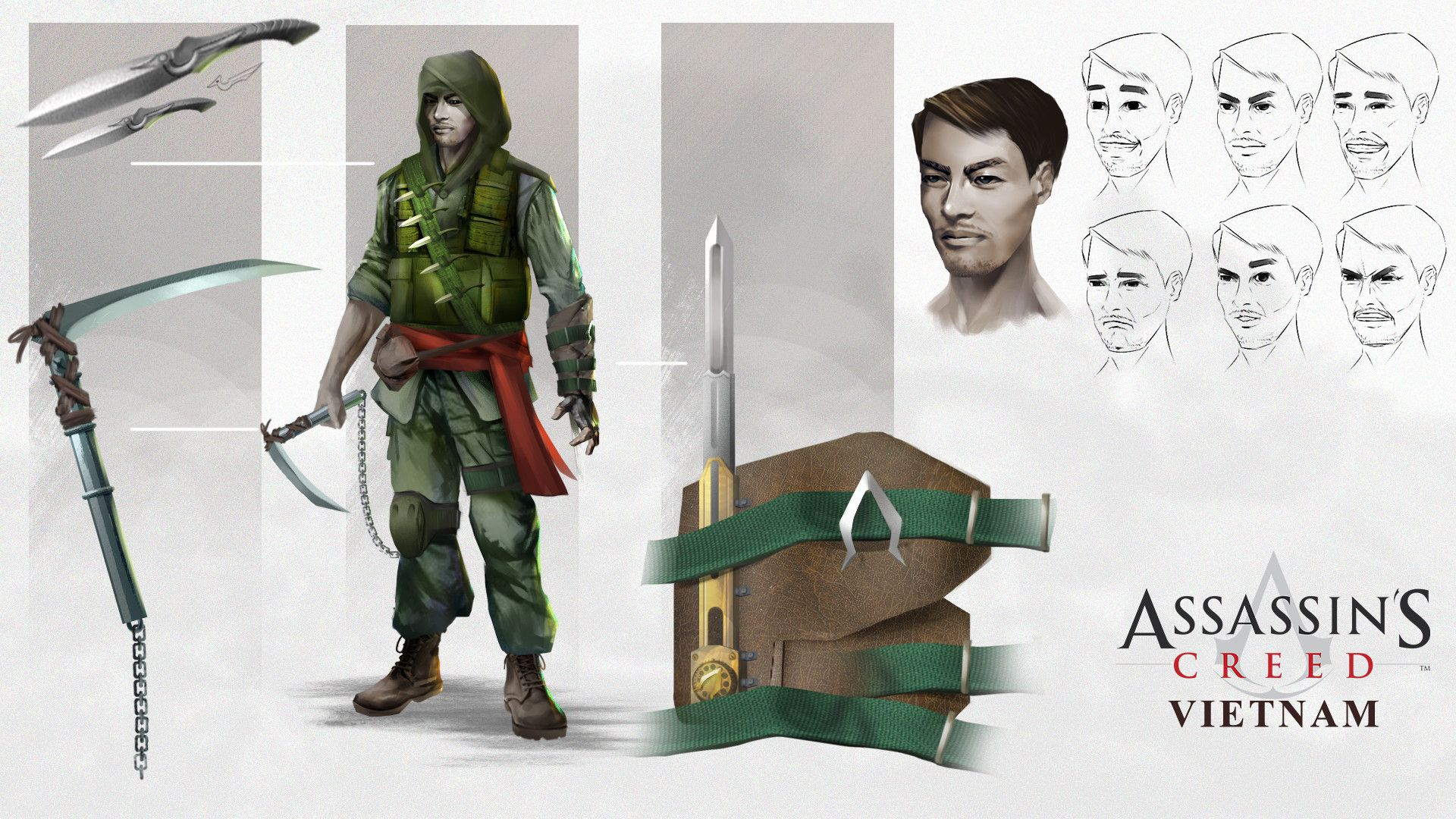 Assassin S Creed Vietnam Fan Concept Nghệ Thuật