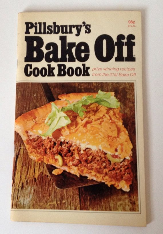 Vintage Pillsbury Bake Off Cookbook 1970 Best Recipes