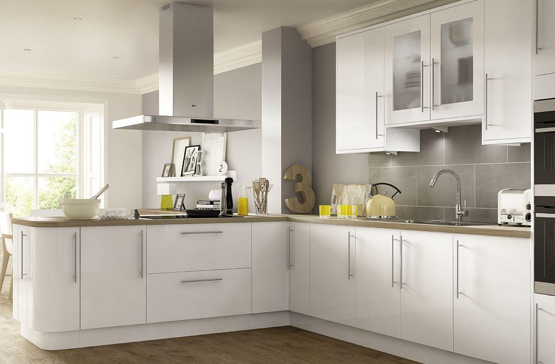 Parma Gloss White Modern Kitchen Cabinets Kitchen Cabinets