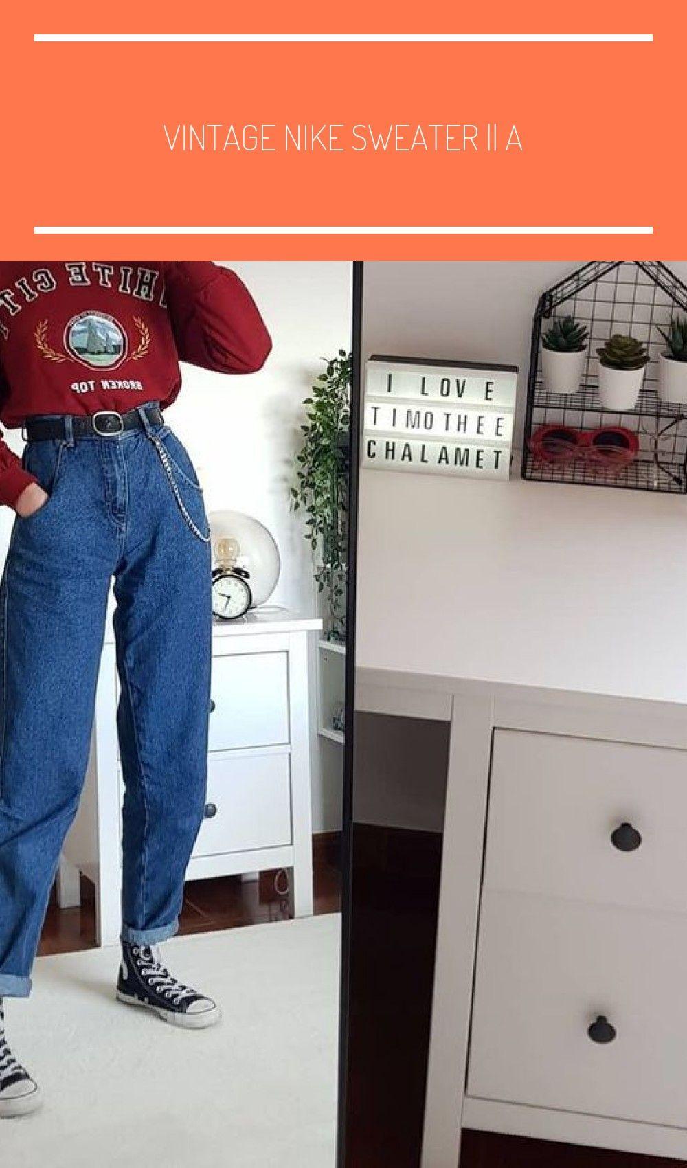 Vintage Nike Sweater  Alter 1213 passt aber 610  folge meiner insta für freies Porto und tag  pullover ideas Vintage Nike Sweater  Alter 1213 passt aber 610  folge m...