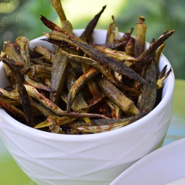 Photo of Oven Baked Okra Fries: A Chef's Life Recipe