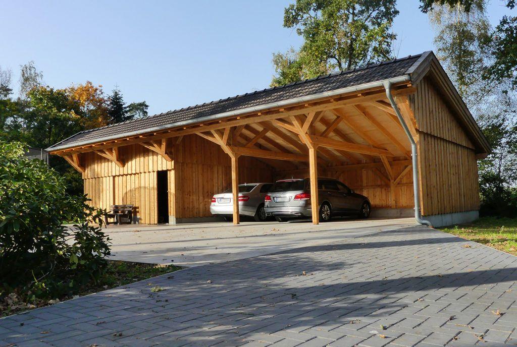 remise für autos grange in 2019 Holzhaus garten, Anbau