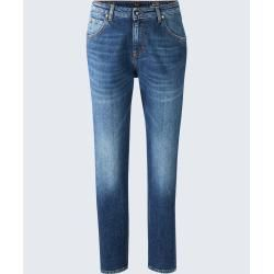 Girlfriend Jeans Gwen in Blau windsor