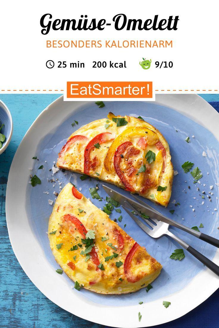 GemüseOmelett  Kalorienarme Rezepte