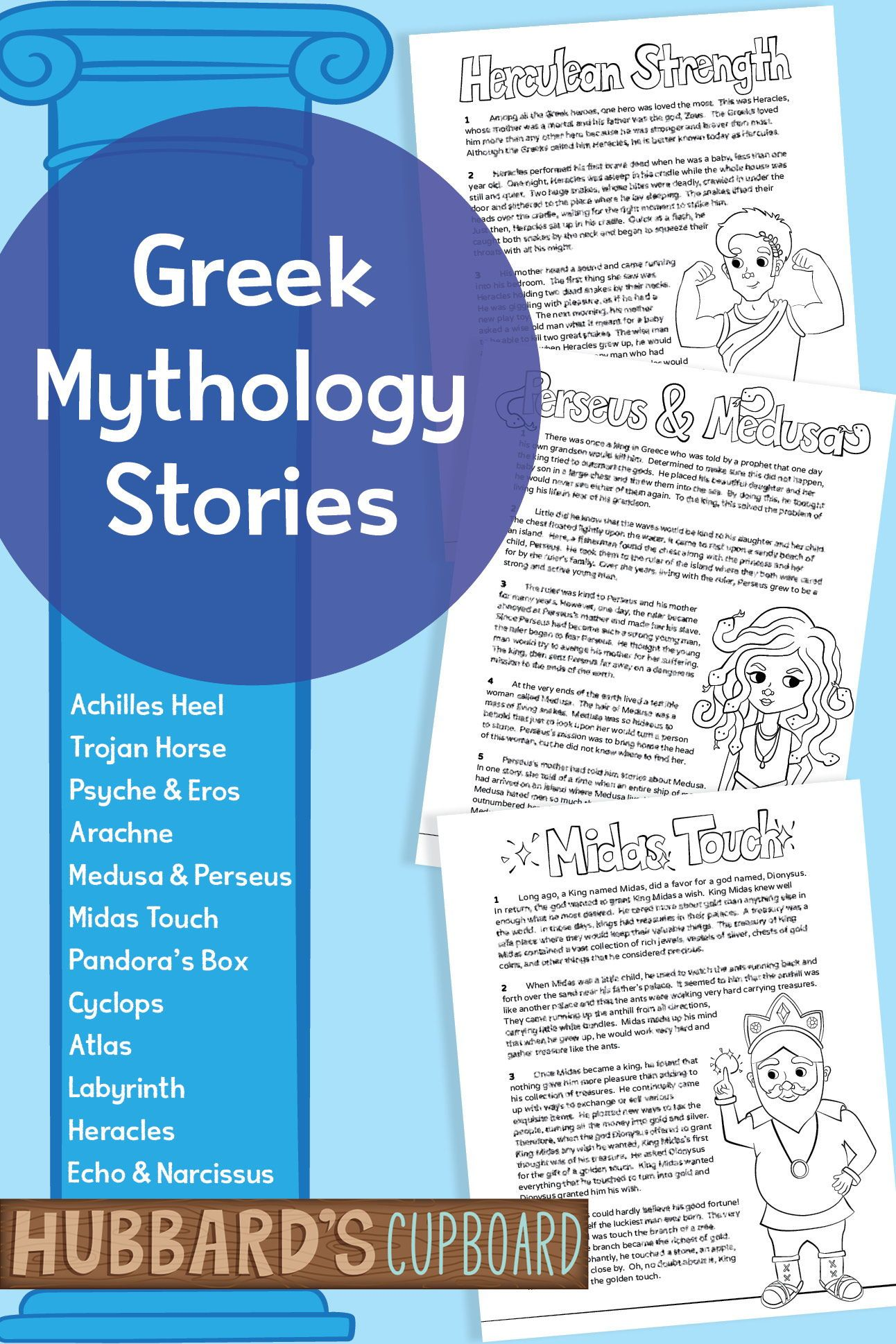Greek Mythology Stories 4th