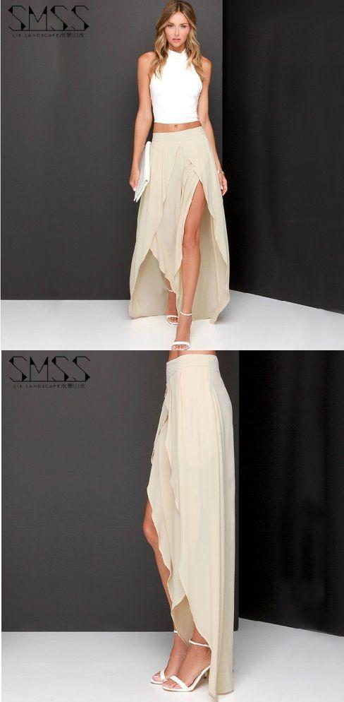 sitio de buena reputación 21a1a 95dc5 Nos encantan las faldas #largas ¿Qué les parece esta #falda ...