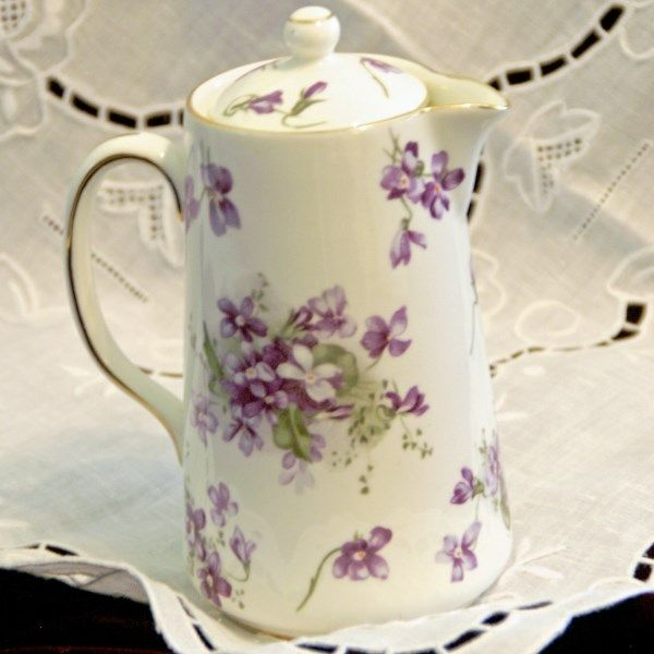 Hammersley Victorian Violets Syrup Pitcher