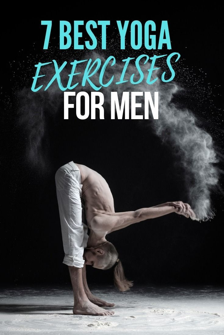 Yoga isn't just for women! We break down the best Yoga poses for men's health and the benefits it br...