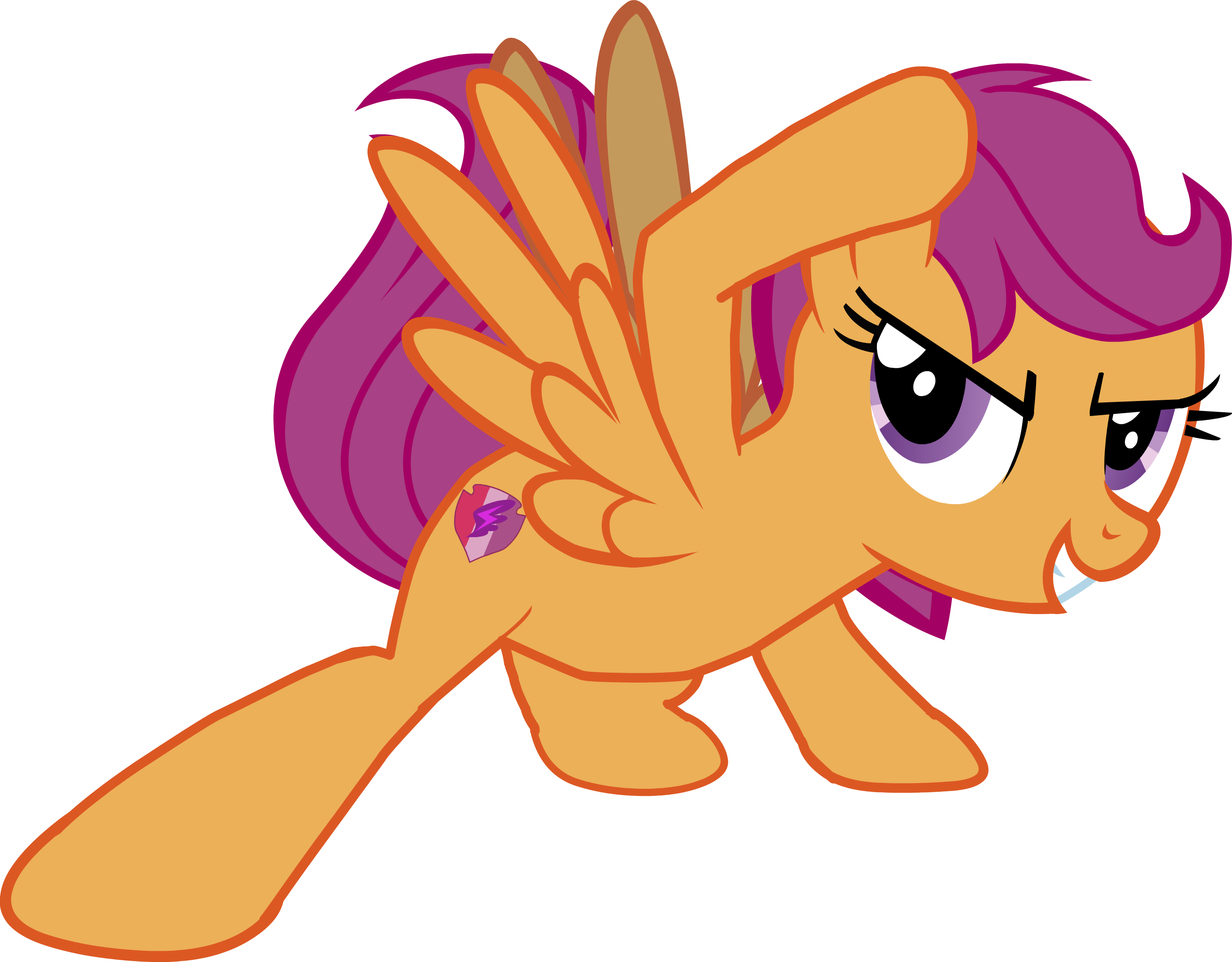 Scootaloo Sliding Cutie Mark Crusaders Mlp Mylittlepony Mlpsliding Mlp2015 Mlp2016 Mlp My Little Pony My Lil Pony My Little Pony Friendship Good vector, the only thing i can really say about is it would look so much better on a white background. pinterest