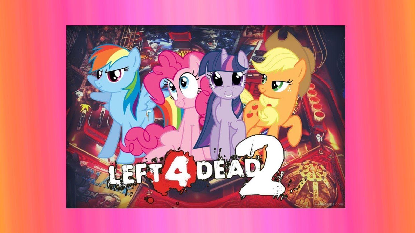 My Little Pony Mod Left 4 Dead 2 COACH Pinkie Pie