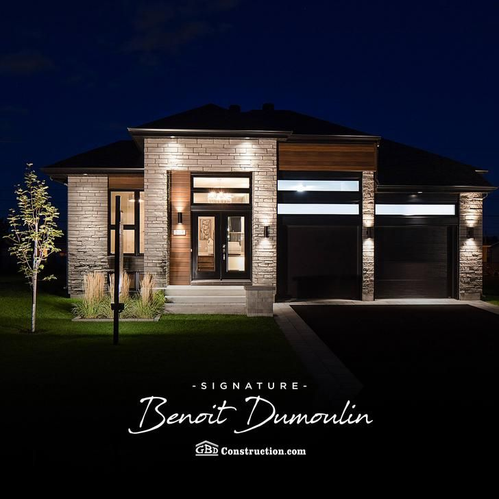 Découvrez les maisons Signature Benoît Dumoulin! 👌 L\u0027une de nos - Plan De Construction D Une Maison