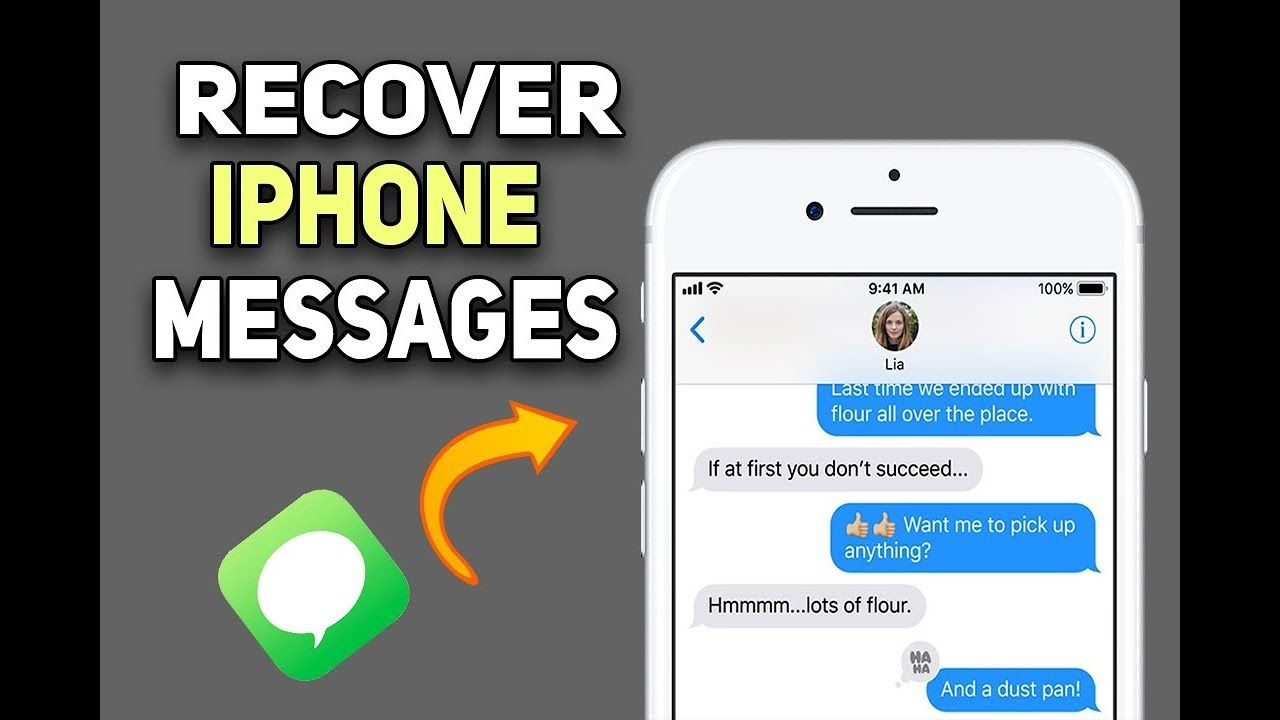 How to Recover Deleted Messages on iPhone (Without Backup