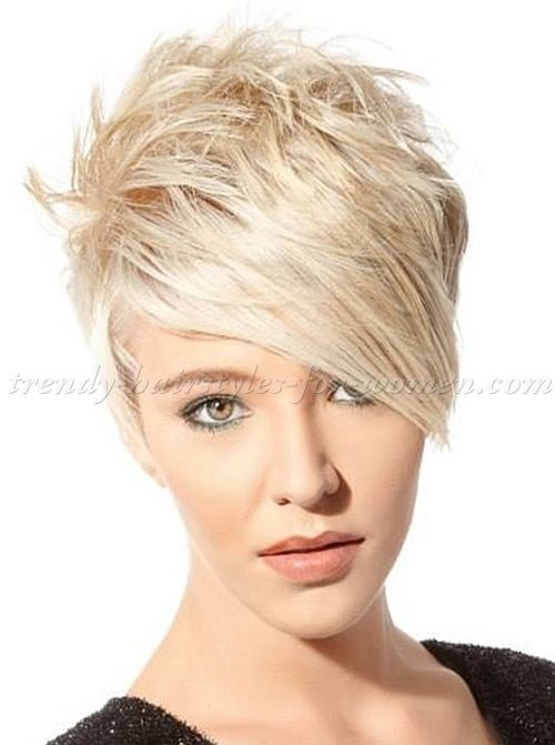 Short Hairstyles With Long Bangs Short Hair Long Fringe Short