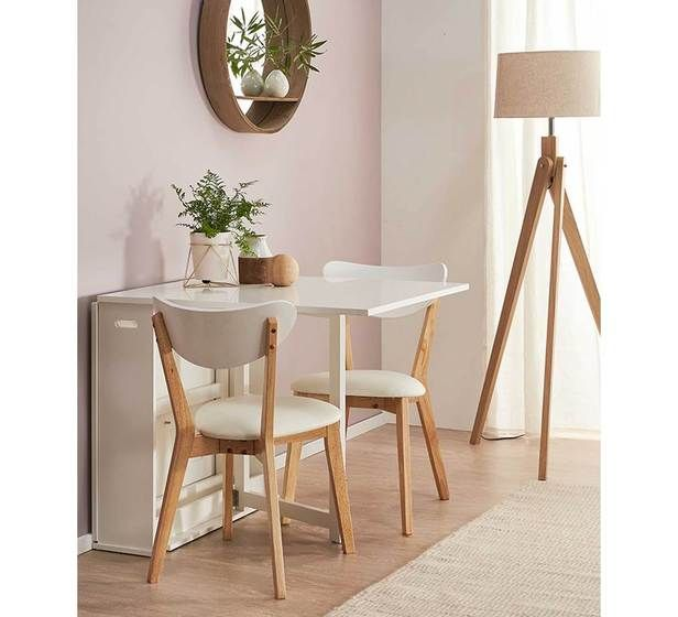 Ordinaire Hayman 3 Piece Dining Set With Toto Chairs