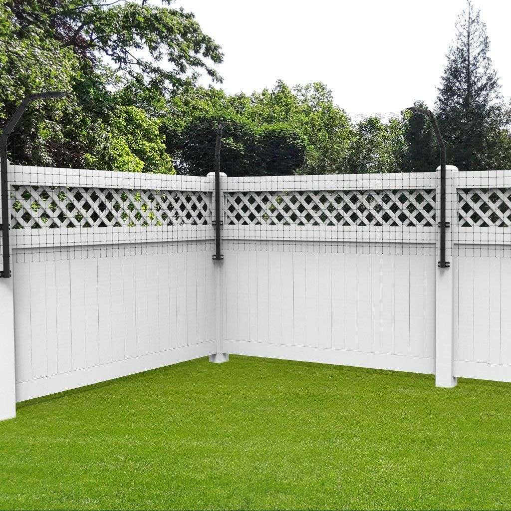Houdini-Proof Dog-Proofer Fence Extension Arm in 2019 | Side yard