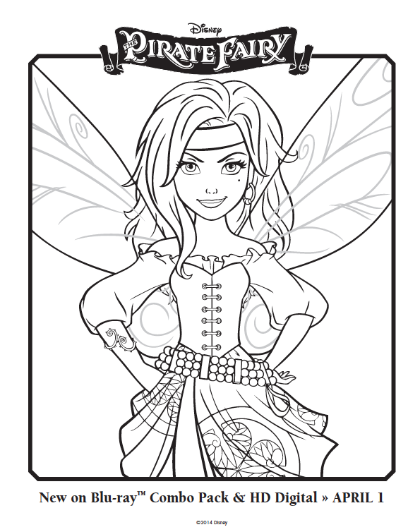 Free Pirate Fairy Coloring Pages Asanti Fairy Coloring Pages