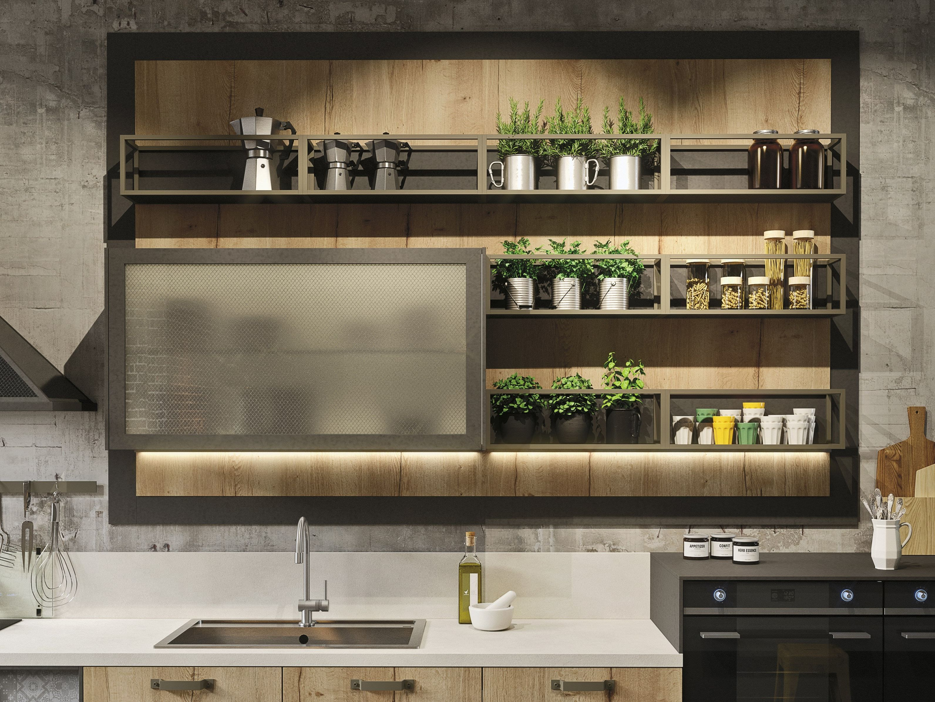 the catalogue and request prices of loft linear kitchen