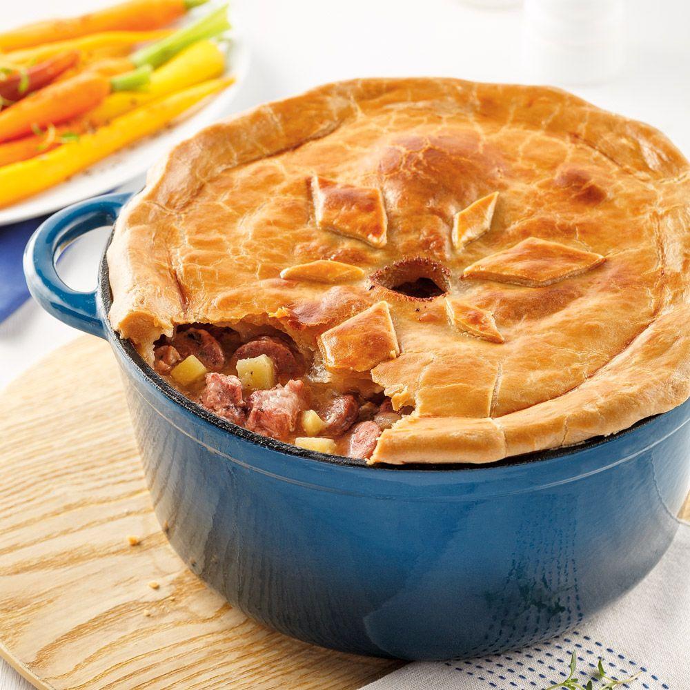 Tourtière au canard du Lac Brome - 5 ingredients 15 minutes #recettenovembre