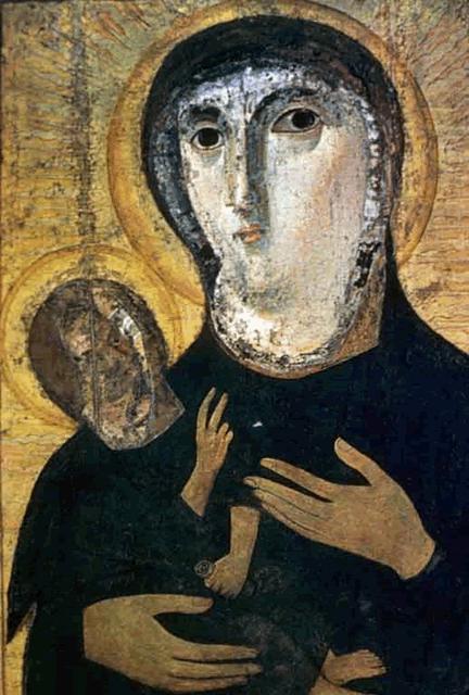 Icon of the Madonna and Child from Santa Maria Nova