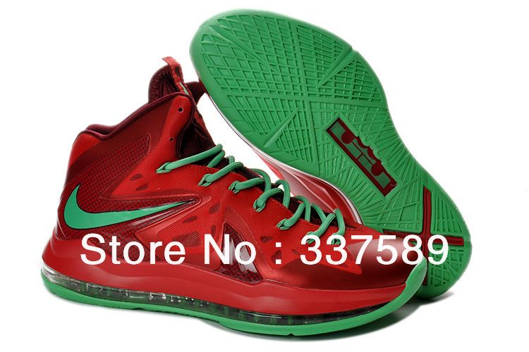 Newest Discount Nike Air Max LeBron 10 Elite Simple Basketball Shoes On  Sale For Men in 93279