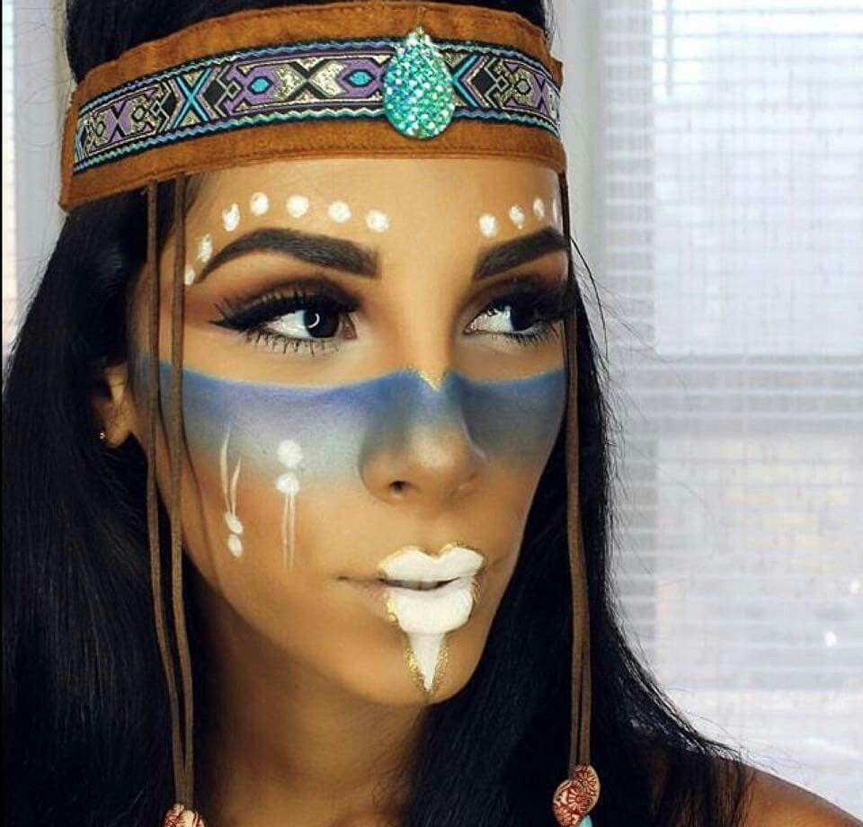 love this face paint fasching pinterest indianer. Black Bedroom Furniture Sets. Home Design Ideas