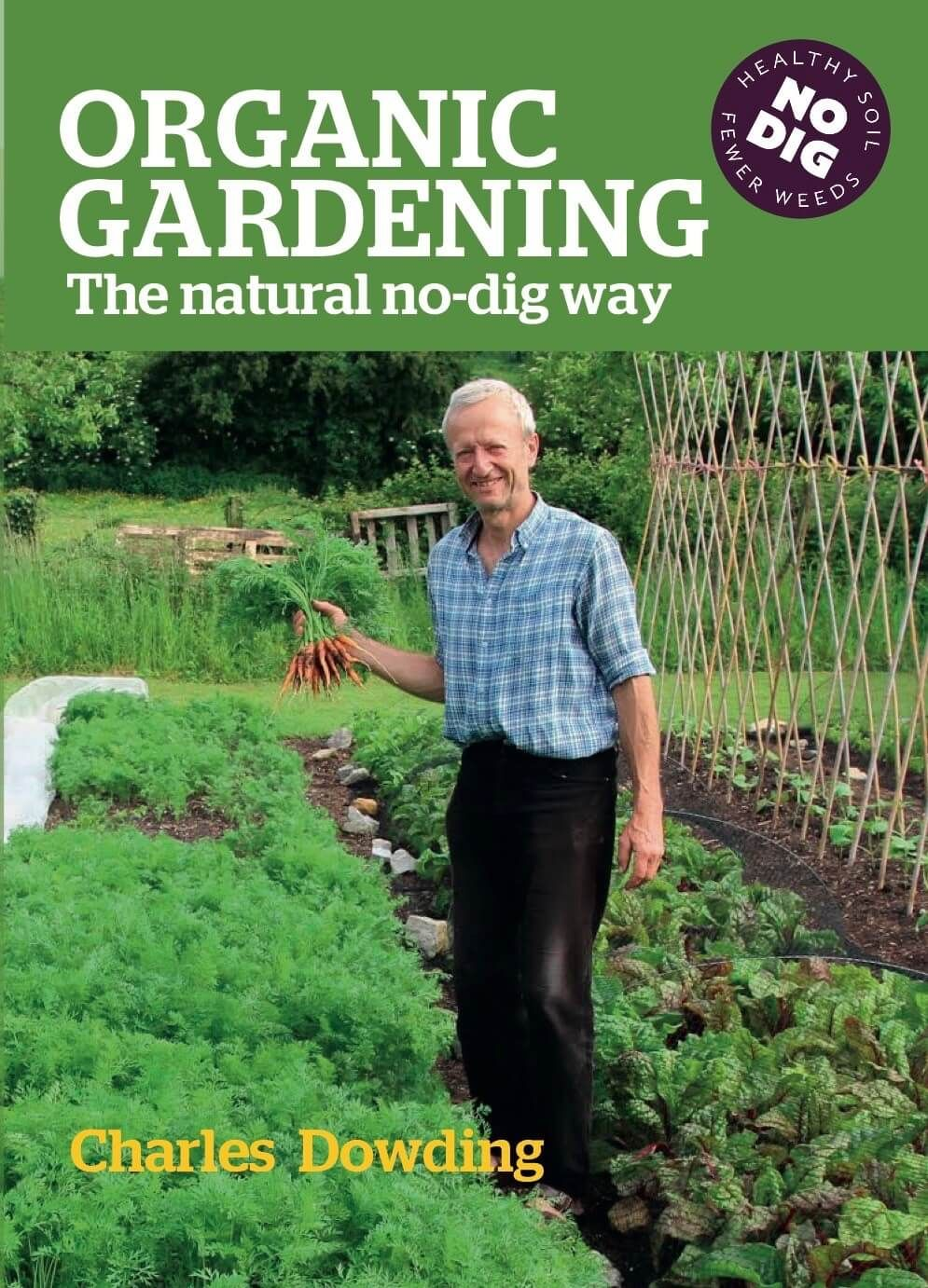 Charles Dowding's Vegetable Garden Diary 400 x 300