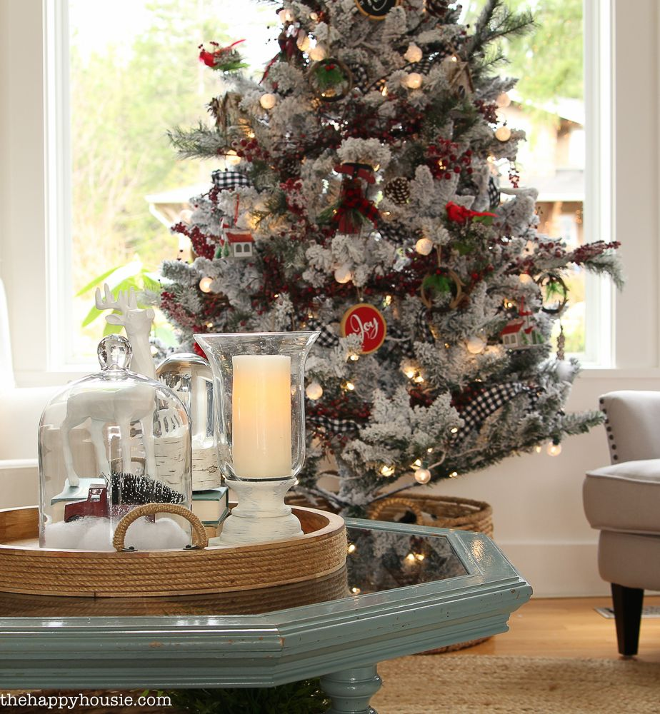 Cabin Chic Winter Woodland Christmas Tree Style Part 62