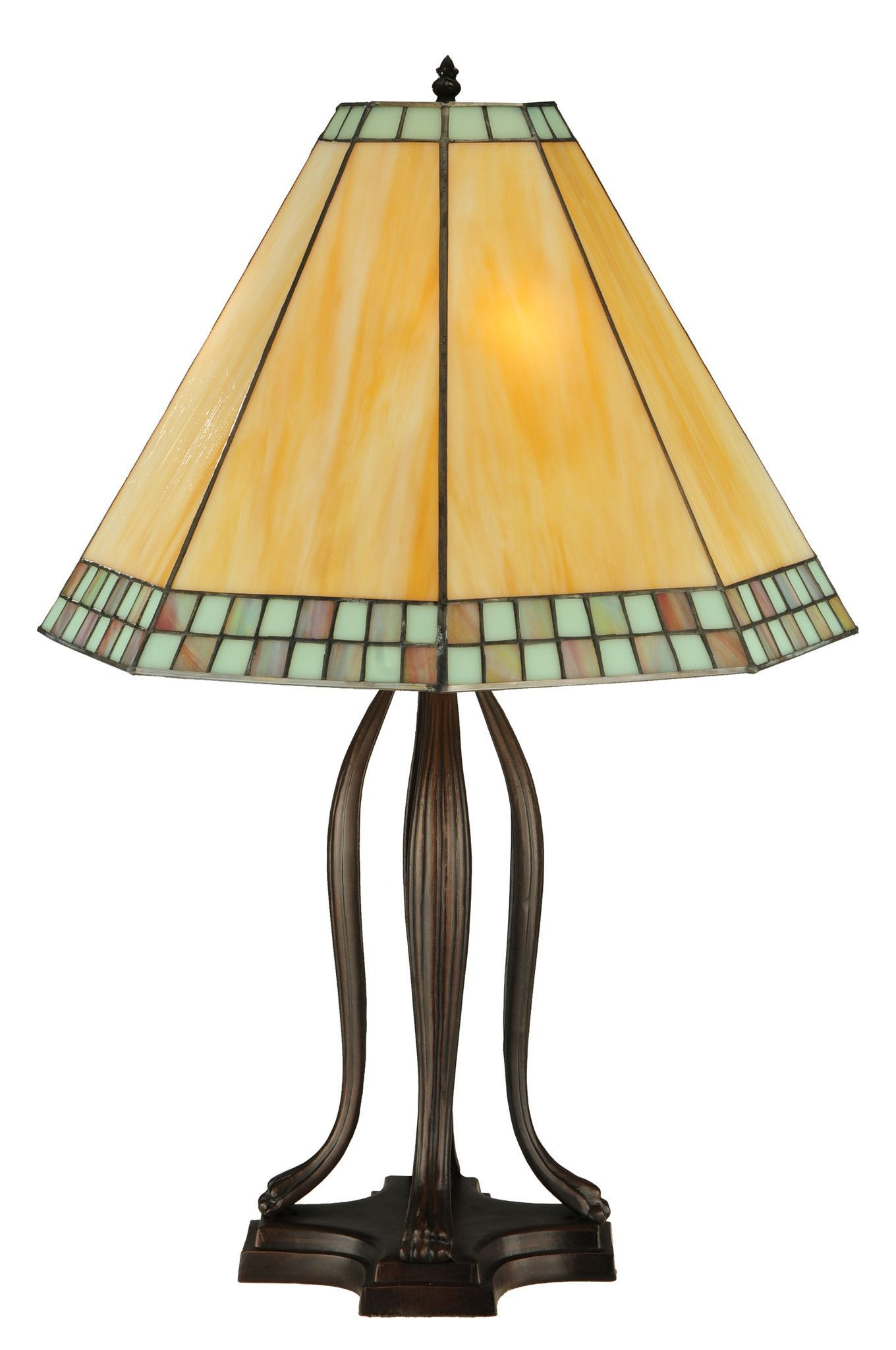 305h checkerboard tiffany mission table lamp checkerboard beautiful checkerboard tiffany mission table lamp shade beige bordered in green blue seafoam mahogany bronze finished base custom options ships free geotapseo Choice Image