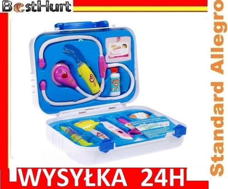 Zestaw Doktora Walizka Termometr Nozyczki Stetosko 4604547168 Oficjalne Archiwum Allegro Suitcase Luggage Items