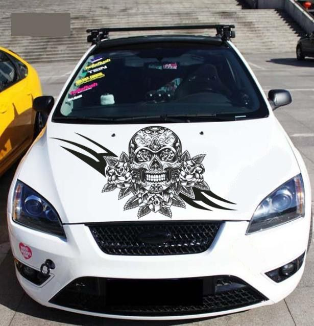 Pin By Bargains Zone On Autos Pinterest Car Stickers And Cars - Vinyl decals cartribal hearts decal vinylgraphichood car hoods decals and
