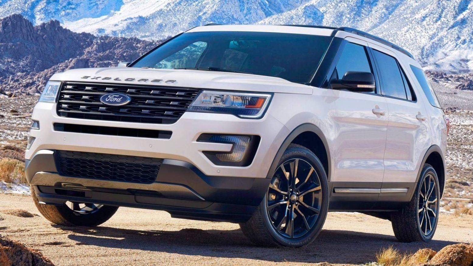 2019 Ford Explorer: Redesign, New Platform, Engines >> 2019 Ford Explorer Review Design Engine Changes Platform Photos