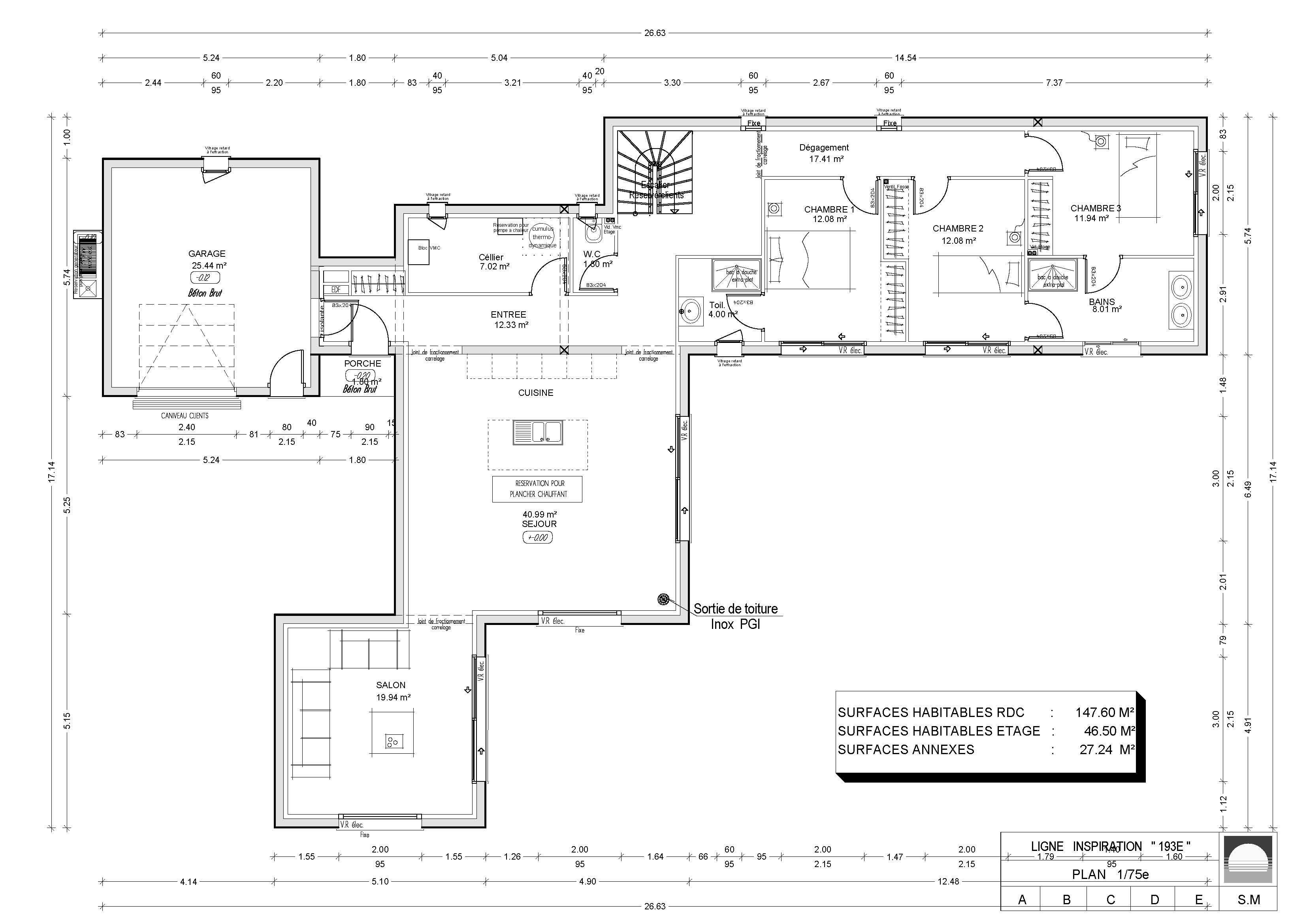 Modèles et plans de maisons modèle à étage inspiration constructions demeures côte argent