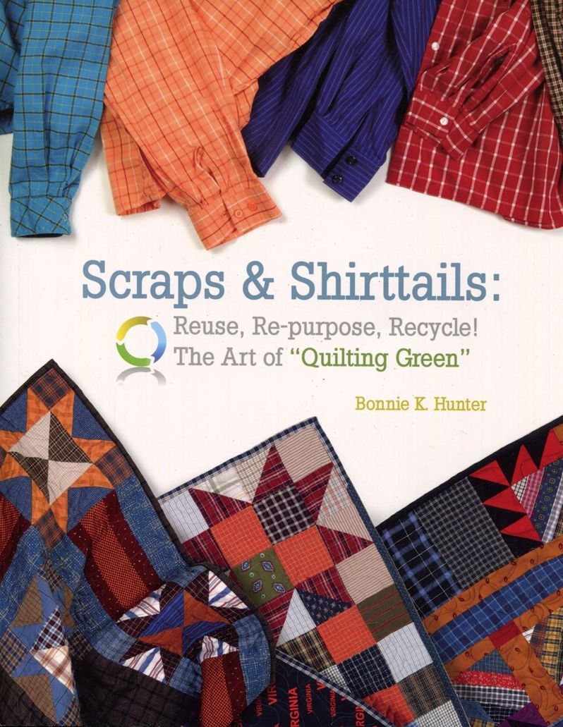 One World Fabrics: Shop | Category: English Craft/Quilting Books | Product: Scraps & Shirttails - 466-82-8