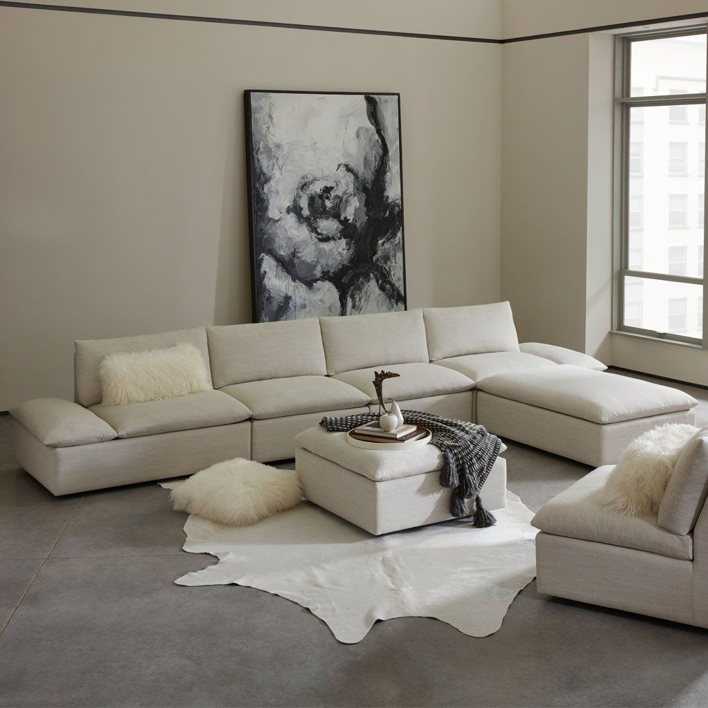 Versa Modular Sofa By American Leather Studio Scale Modular