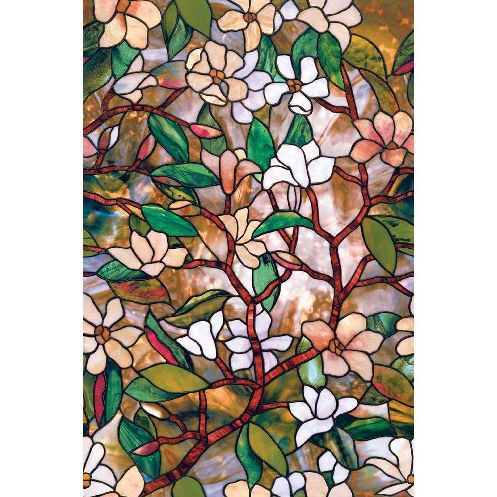 Artscape 24 In X 36 In Magnolia Decorative Window Film 01 0113