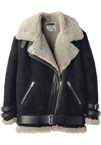 Acne Studios   Velocite Oversized Shearling Jacket   La Garçonne