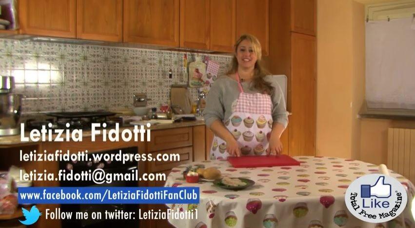 Primo cooking show su Total Free Tv e sul nostro canale YouTube con Letizia Fidotti (Masterchef Italia)