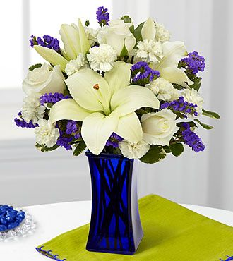 The Ftd 174 Beyond Blue Bouquet Is A Wonderful Way To Send