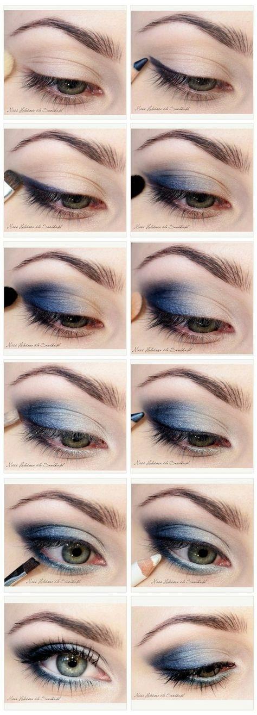 11 Cree instrucciones simples paso a paso para principiantes // #Principiante …  – Maquillaje